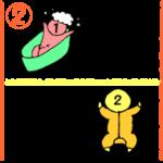双子のお風呂~乳児期~